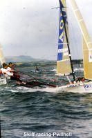 Skiff racing Pwllheli