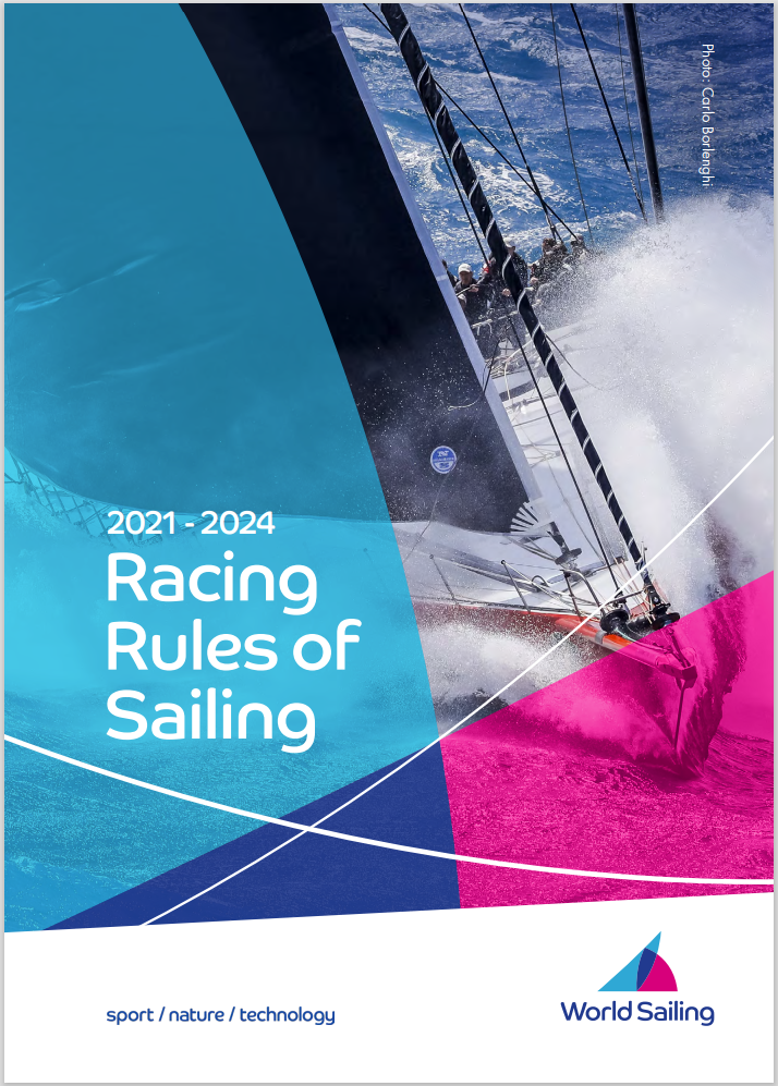 World Sailing Racing Rules of Sailing 2021 - 2024
